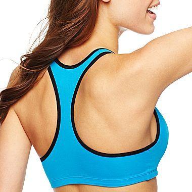 JCPenney Flirtitude® Microfiber Yoga Sports Bra