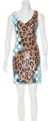 Ashish Sequined Sleeveless Dress