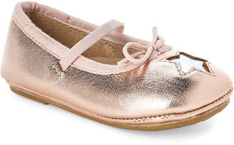Old Soles Toddler Girls) Copper & Silver Cruise Star Ballet Flats
