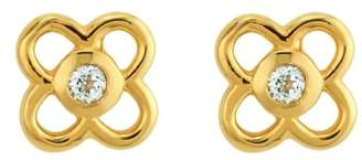 Asha Petite Paloma Stud Earrings