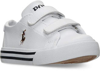 Polo Ralph Lauren Toddler Boys' Slater EZ Casual Sneakers from Finish Line $34.99 thestylecure.com