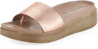 Donald J Pliner Fiji Patent Platform Slide Sandal
