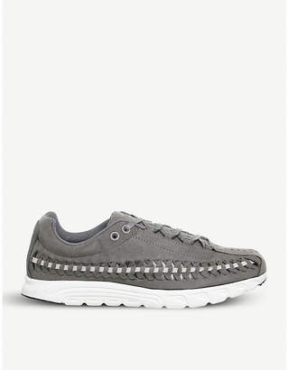 Nike Mayfly woven suede trainers