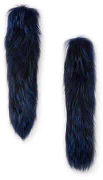Gorski Silver Fox Fur Cuffs