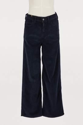 Atelier Notify Silene wide corduroy pants