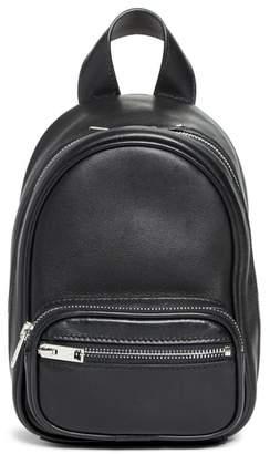 Alexander Wang Mini Attica Leather Backpack Shaped Crossbody Bag