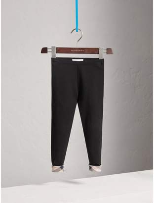 Burberry Stretch Cotton Leggings