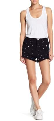 Lush Star Stud High Waist Shorts