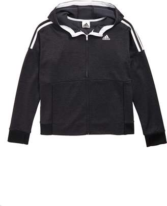adidas 3-Stripes Hooded Jacket