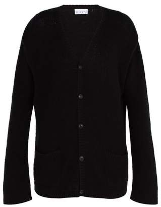 Raey Open Knit Summer Cashmere Cardigan - Mens - Black