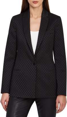 Reiss Fortuna Diamond Jacquard Jacket