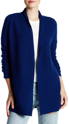Kinross Shawl Ribbed Cashmere Cardigan $119.97 thestylecure.com