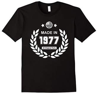 40th Birthday Gifts Made 1977 All Original Parts T-Shirt