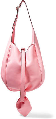 J.W.Anderson Knot Leather Shoulder Bag - Baby pink