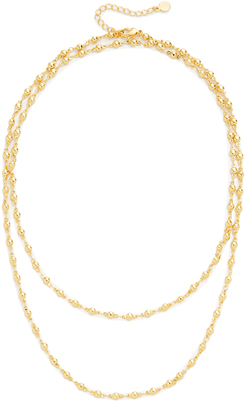 Gorjana Layer Bali Wrap Necklace $60 thestylecure.com