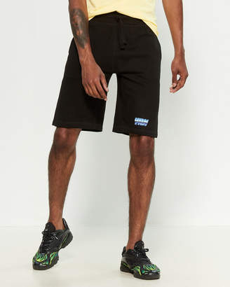 Yrn Bolt Culture Drawstring Shorts