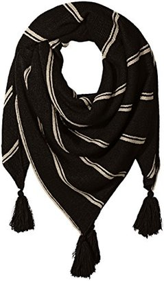 Collection XIIX Women's Oversized Stiped Knitted Square $38 thestylecure.com