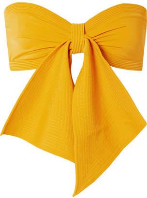 Johanna Ortiz Hello Sunshine Bandeau Bikini Top - Marigold