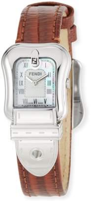 Fendi 27mm B. Zucchino Leather Watch