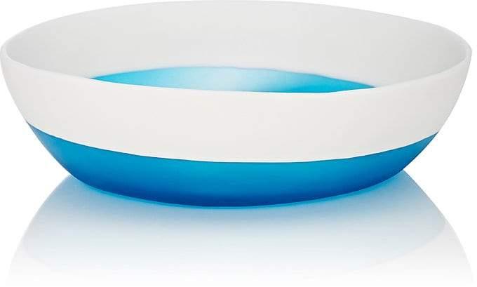 Tina Frey Designs Bi-Color Wide Vegetable Serving Bowl