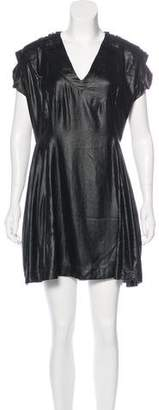 Alexandre Herchcovitch V-Neck Mini Dress