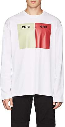 Raf Simons Men's Long-Sleeve Cotton Jersey T-Shirt
