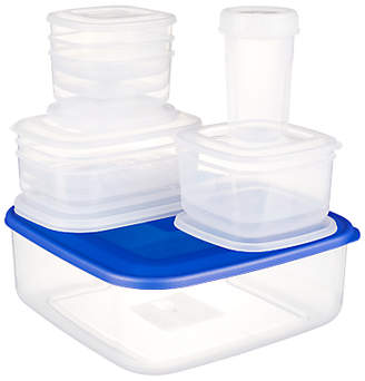 John Lewis Kitchen Food Containers, Set of 10