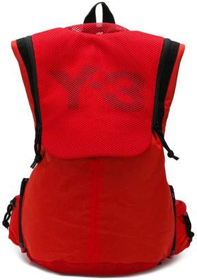Y-3 red all purpose backpack