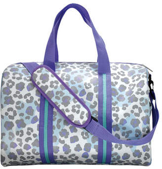 Iscream Snow Leopard Print Duffle Bag