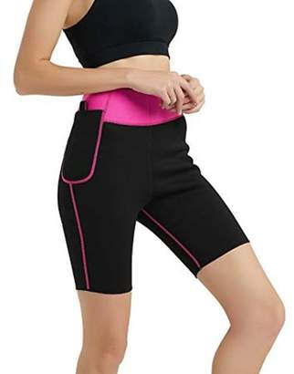 Generic Women's Hot Sweat Body Shaper Neoprene Slimming Sauna Suit Shorts