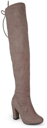 Journee Collection Maya Wide Calf Thigh High Boot - Women's