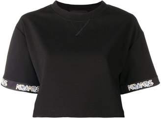 Mr & Mrs Italy short-sleeve cropped T-shirt