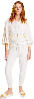 Max Studio cotton double-knit jacket