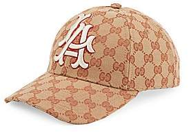 Gucci Women's Baseball Hat With LA AngelsTM Patch
