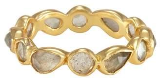 Melinda Maria Isla Labradorite Stacking Ring - Size 7