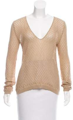 CNC Costume National Textured Open Knit Sweater