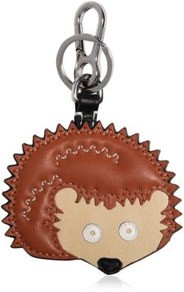 Loewe Hedgehog Charm Leather Key Chain