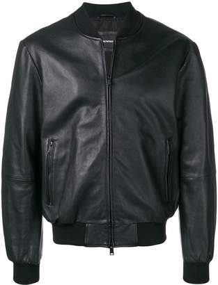 Emporio Armani long sleeved bomber jacket