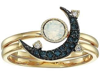 Swarovski Duo Moon Ring