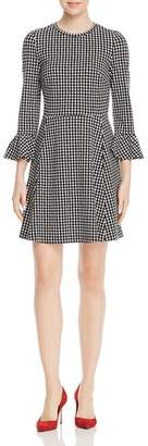Kate Spade Houndstooth Ponte Dress