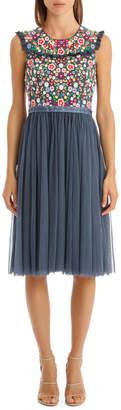 Needle & Thread Lazy Daisy Bodice Dress