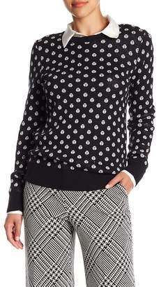 Trina Turk Hill St. Polka Dot Sweater