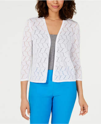 Charter Club Pointelle Completer Cardigan