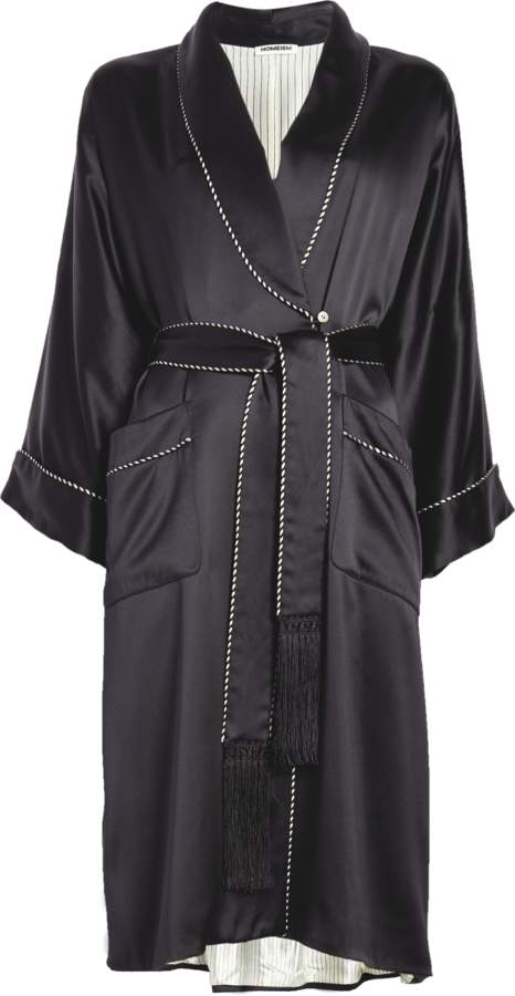 Homeism Willow Silk Fully Lined Robe