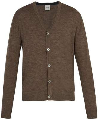 Paul Smith Long-sleeved merino-wool cardigan