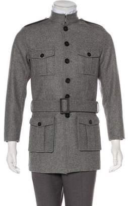 Christian Dior 2006 Wool-Blend Officer Jacket