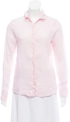 Cp Shades Linen Button-Up Top w/ Tags