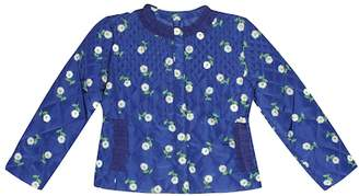 MonnaLisa Floral-printed quilted jacket