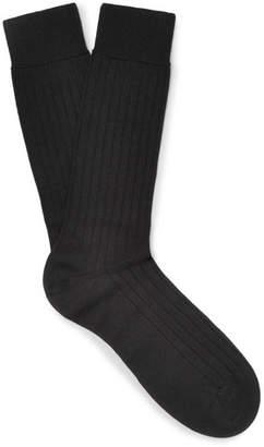 Pantherella Pembrey Sea Island Cotton-Blend Socks
