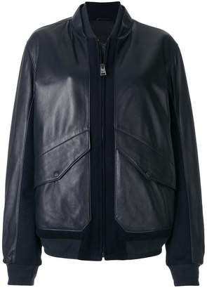 Liska panelled bomber jacket